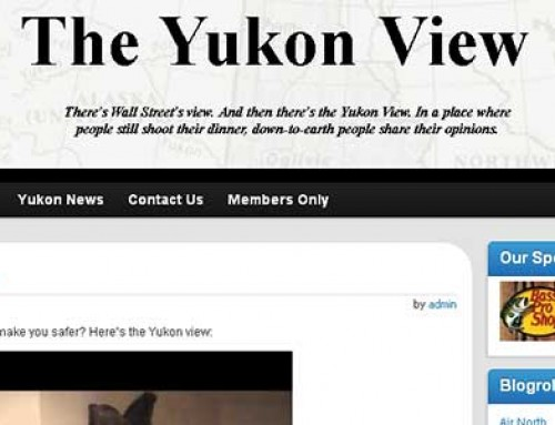 The Yukon View Website